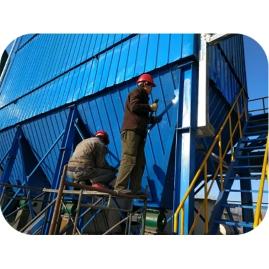 吉林绿源锅炉布袋除尘器工程